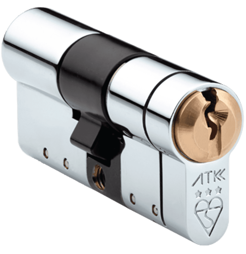 ATK is a euro cylinder with the Master Locksmith Association's highest rating