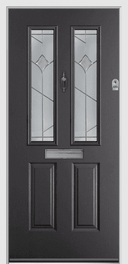 Etna Composite Door Swansea Cardiff Newport Cowbridge Anthracite Grey