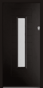 Fuji-Composte-Door-Cardiff-Schwarz-Braun-Black