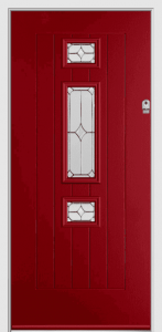 Kit-Composite-Doors-South-Wales-Rich-Red