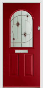 Olympus-Composite-Door-South-Wales-Rich-Red